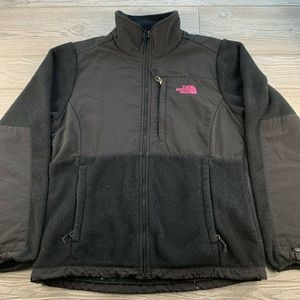 The North Face Women Denali Black  Fleece Jacket M